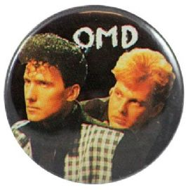 OMD - 'Group Black' Button Badge